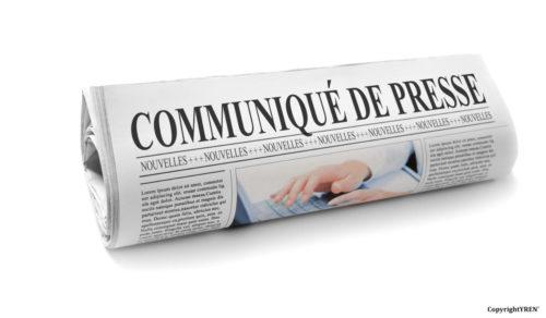 Communiqué de presse d'YREN'
